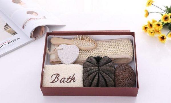 bộ quà tặng dụng cụ tắm