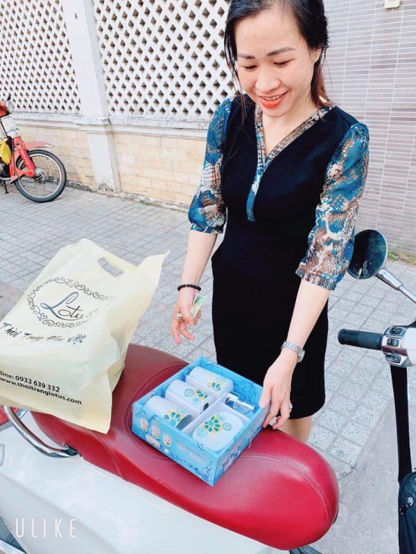Bộ chai lọ sứ nhà tắm tại TPHCM- Green Life