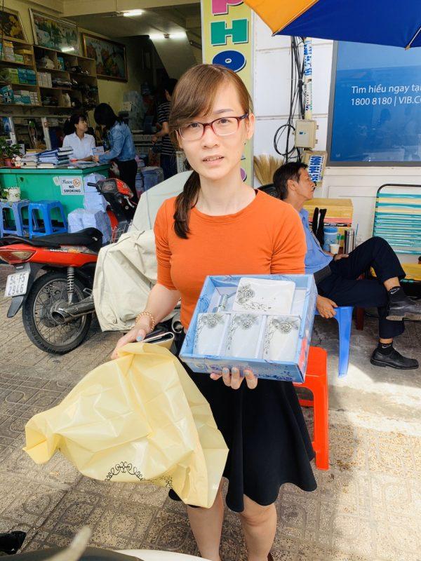 Bộ chai lọ bằng sứ đẹp tại TPHCM- Green Life