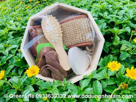 quà tặng bộ dụng cụ tắm tại TPHCM - Green Life