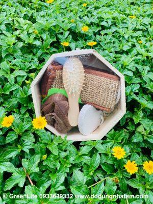 Dụng cụ tắm, bông tắm, đai chà lưng - chăm sóc cơ thể cùng green Life