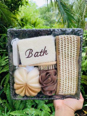 quà dụng cụ tắm bằng gỗ tại TPHCM- Green Life